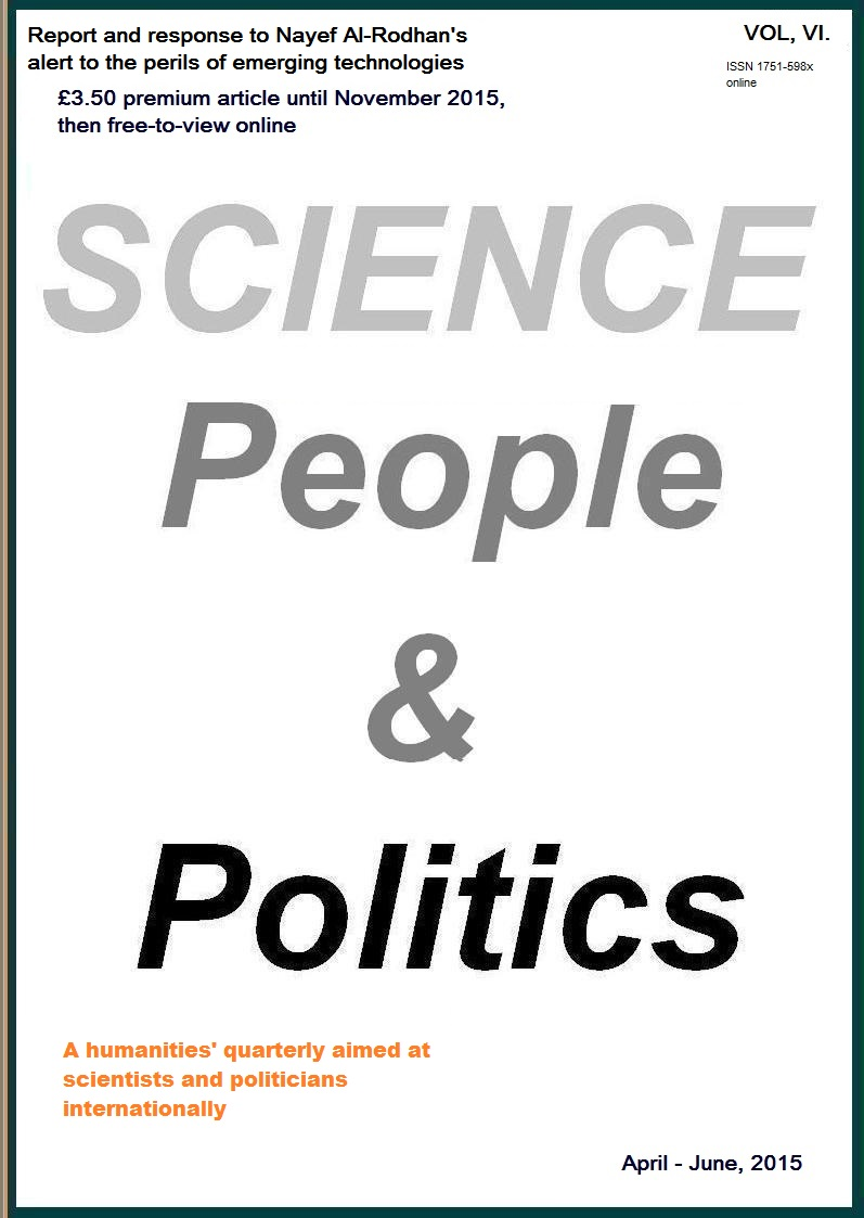 Science, People & Politics