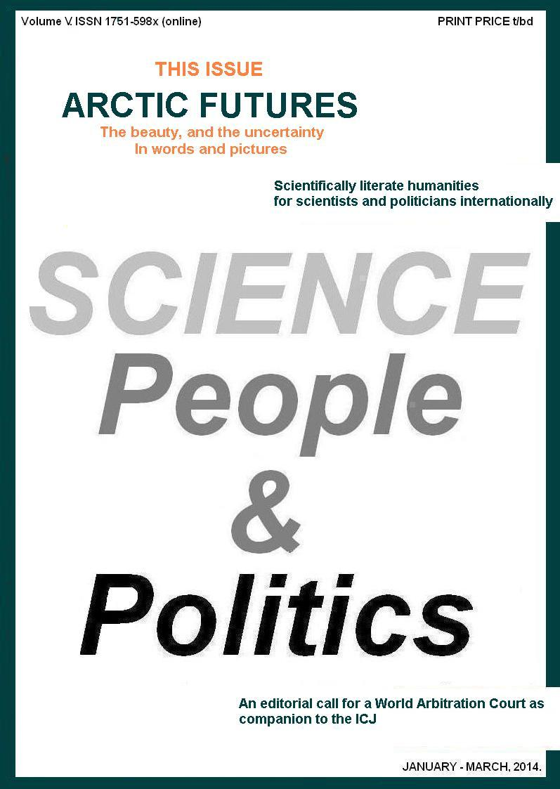 Science, People & Politics, Issue One, 2014