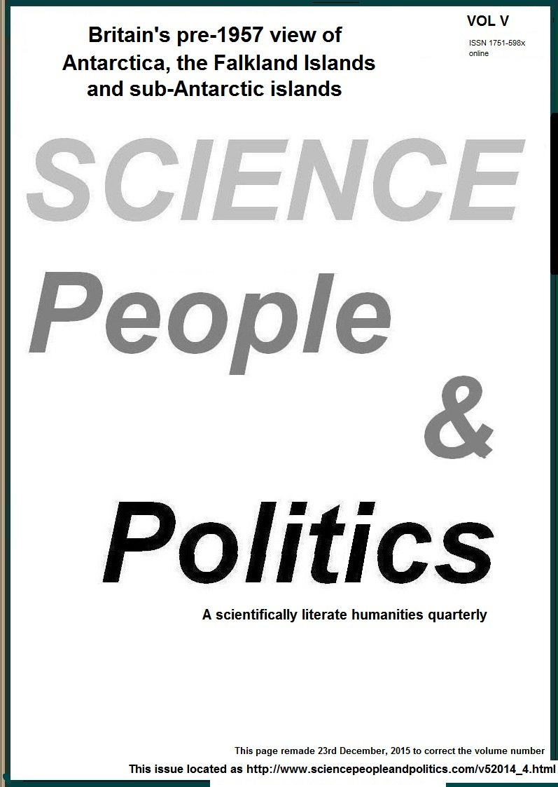 Science, People & Politics, Issue 4, 2014